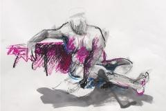 W_0047_Bleistift_Tusche_Oelpastell_44x60cm