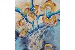 W_0106_Collage_Acryl_auf_Papier_80x100cm